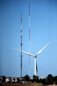 Clipper Turbine in Cedar Rapids
