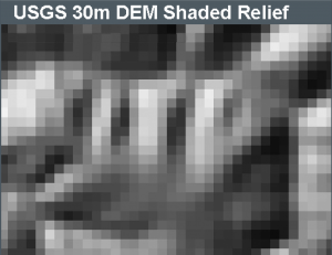 30m DEM